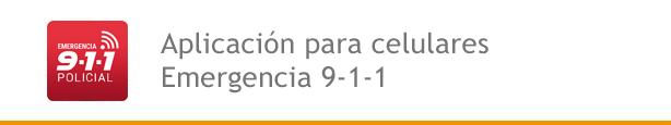 Aplicación para celulares Emergencia 9-1-1